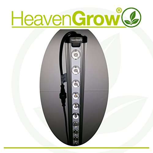 LED-Leiste für Anbau 120 cm HeavenGrow LED Grow Pflanzenlampe Bar