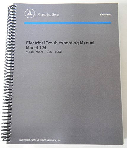 Price comparison product image Mercedes Electrical Service Manual W124 1992 1991 1990 1989 1988 1987 1986