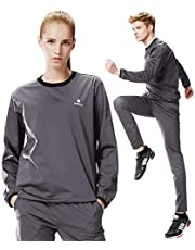 KEBILI Sauna Suit Women Weight Loss Gym Fitness Exercise Workout Sweat Training
