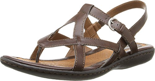 Born Slingbacks (Women's B.O.C, Averie Thong Sandal BROWN 8 M)