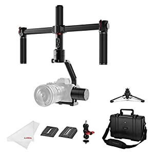 MOZA Air 3 Axis Handheld Gimbal Stabilizer with Dual Handle for DSLR Cameras, Max Payload of 7.1Lb, i.e. Canon EOS, Sony A7, Panasonic GH5