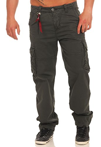 Alpha Black Pantalon Pant Grigio Industries Grey Jet xTXrqnwTS6