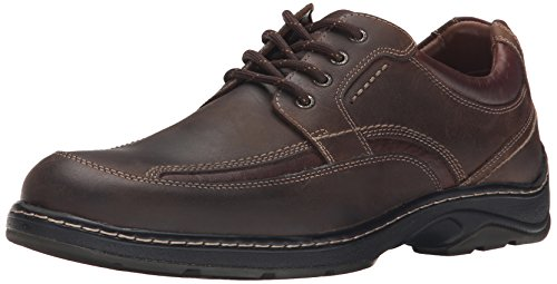 n's Fairfield Moc Lace up Oxford, Brown Oiled Waterproof Calfskin, 11 M US ()