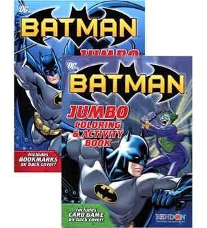 Batman Jumbo Coloreing & Activity Book 96 (2 Piece Pack) - 16502FS by UP