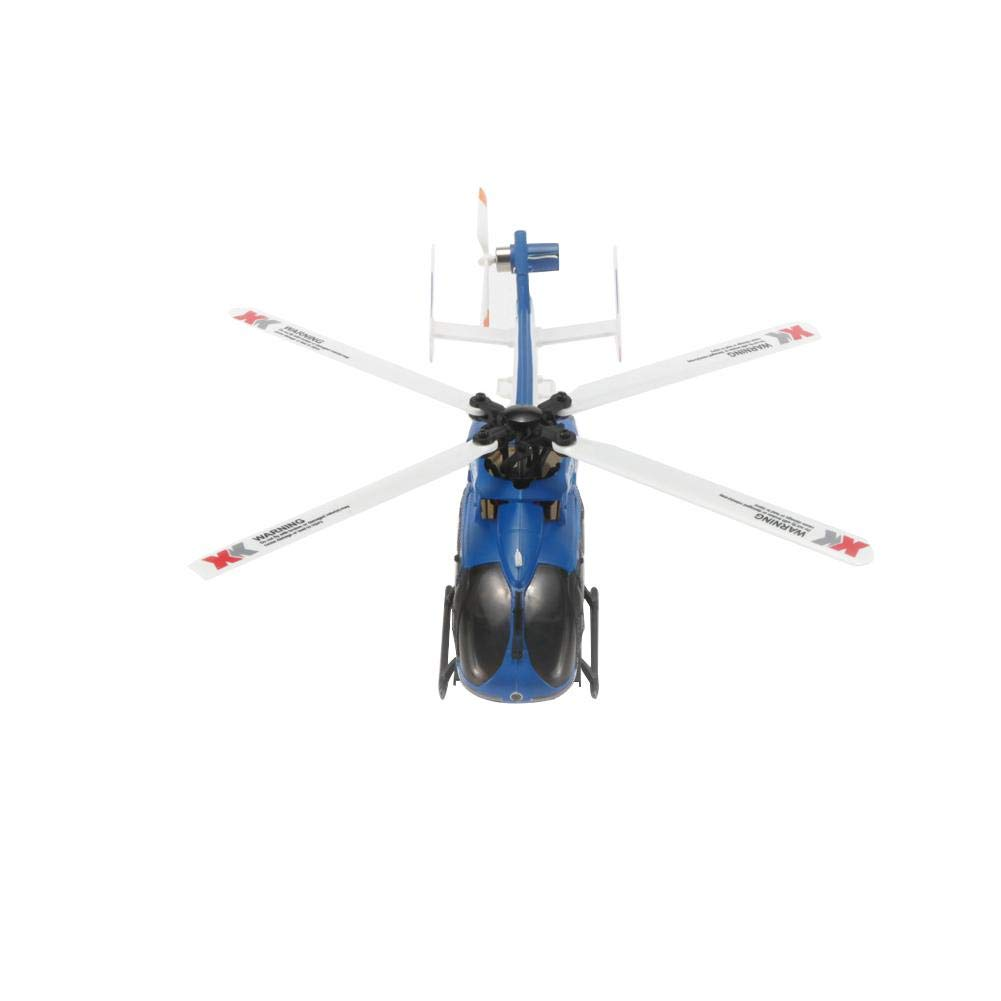 Luckycyc Children Remote Control Helicopter Toy, 2.4G XK K124 6CH Brushless EC145 3D6G System RC Helicopter RTF by Luckycyc (Image #5)