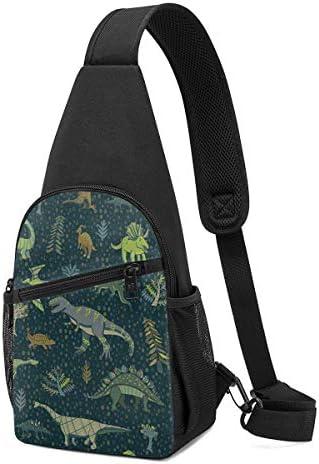 ボディバッグ ワンショルダー 斜めがけバッグ 恐竜の赤ちゃん プリント ワンショルダーバッグ ボディーバッグ メンズ レディース 軽量 大容量 通勤通学旅行