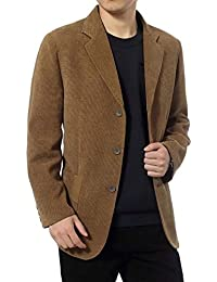 "<span class=""a-offscreen"">[Sponsored]</span>Men's Blazer Jacket Corduroy Casual Business Sport Coat Smart Formal Dinner Cotton Jacket Slim Fit Notch Lapel..."