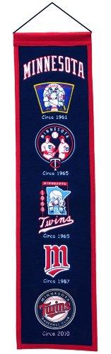 MLB Minnesota Twins Heritage Banner
