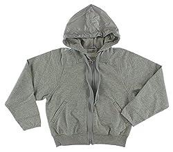 Adidas Womens By Stella Mccartney Run Zip Hoodie Heather Grey M