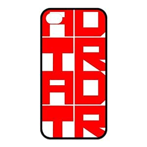 the Case Shop- Customizable A Day To Remember ADTR iPhone 4 and iPhone 4S TPU Rubber Hard Back Case Cover Skin , i4xq-179 hjbrhga1544