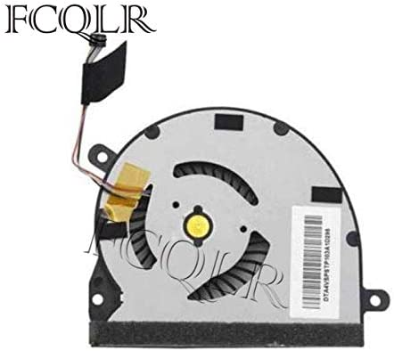 New Laptop CPU Cooling Fan Compatible with HP Envy Spectre 14-3000 14-3100 TPN-Q105 672008-001