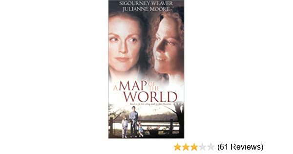 Amazon.com: A Map of the World [VHS]: Sigourney Weaver ... on huge wall maps of the world, sigourney weaver deal of the century, sigourney weaver the tv set, julianne moore movie a map of the world,