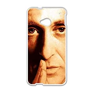 HTC One M7 White Godfather phone case cell phone cases&Gift Holiday&Christmas Gifts NVFL7N8824287