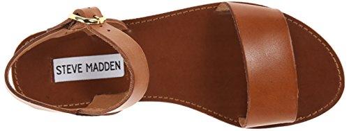 Steve Madden Tan Donna Leather Sandali Donddi xv6xwr0