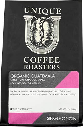 Unique Coffee Roasters, Coffee Guatemala Whole Bean, 12 Ounce