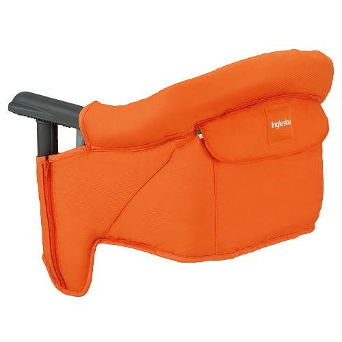 Inglesina Fast Table Chair With Dining Tray - Orange