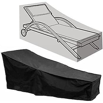Amazon Com Flr Black Chaise Lounge Chair Cover