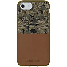 Burton Cell Phone Case for iPhone 7/6/6s - Pacifist Camo Fir / Brown Leather