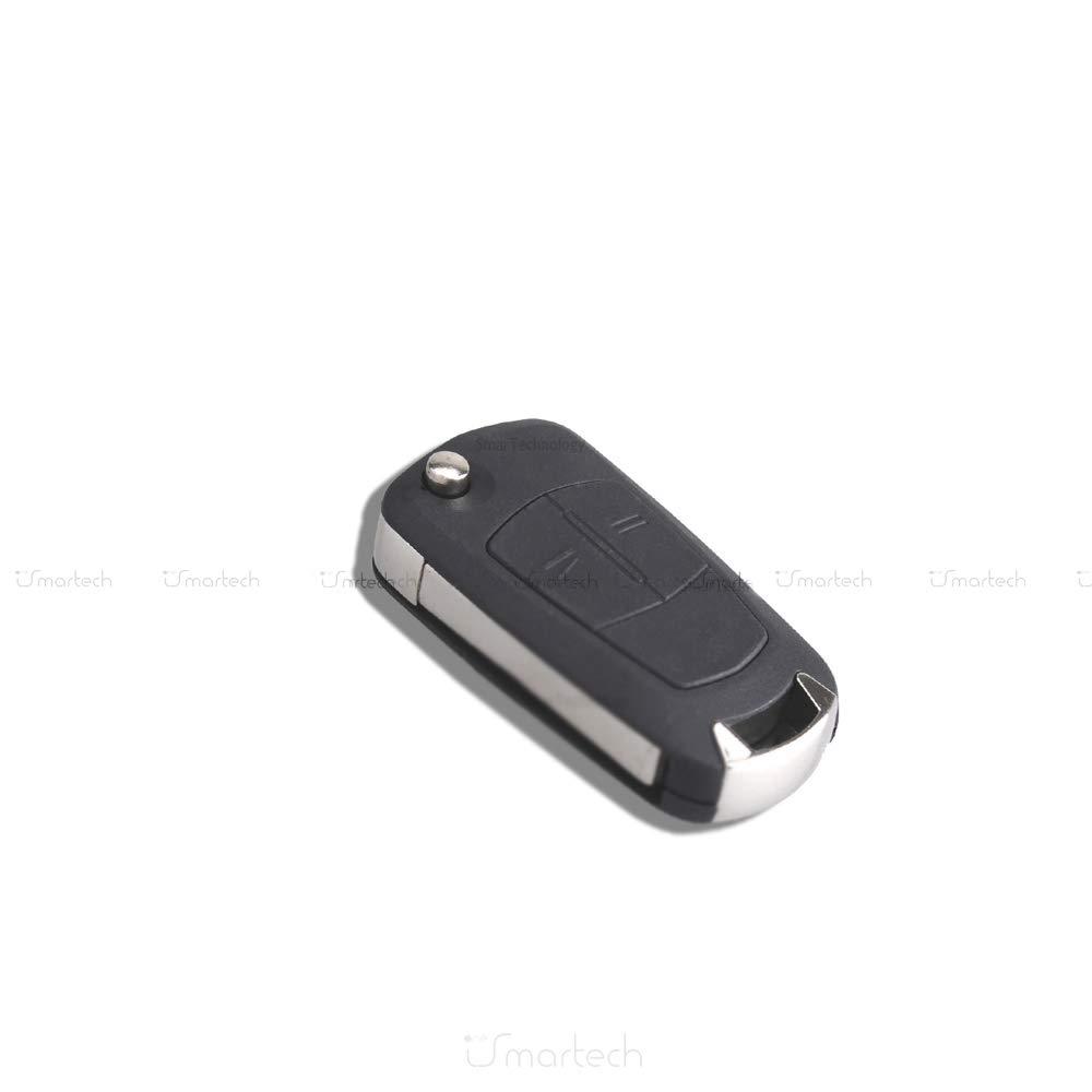 OPEL Key Shell Remote Control Flip Key 2/Buttons KS01/Astra H Corsa D Meriva Signum Vectra C Zafira B