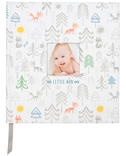 (C.R. Gibson Little Man Perfect-Bound Memory Book for Newborn and Baby Boys, 9.5
