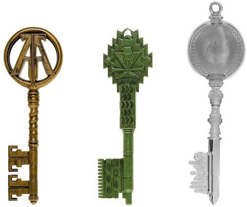 - Funko Keys: Ready Player One- 3PK- Green, Clear, Copper