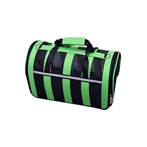 Green Medium Green Medium Pet Handbag, Cat and Dog Carrier Airline Approved Pet Carrier Out Travel Shoulder Bag (Multiple colors and Multiple Sizes)