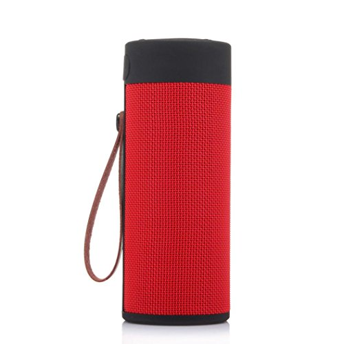 Hd Digital Sounder - T4 Outdoor Portable Bluetooth Speaker Stereo Wireless Speaker With HD Audio (Red)