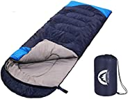 SWTMERRY- Sleeping Bag 3 Seasons (Summer, Spring, Fall) Warm & Cold Weather - Lightweight,Waterproof Indoo