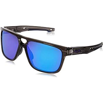 2c6ff1b80799 ... ebay oakley mens crossrange patch non polarized iridium rectangular  sunglasses grey smoke 60 mm 54d81 e6490