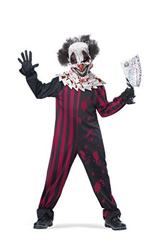 Extremely Scary Halloween Costumes (California Costumes Killer Klown Child Costume,)