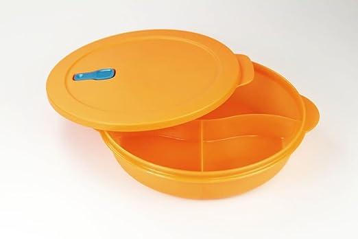 Tupperware Microondas crystalwave 1,9 L con abtrennung Naranja ...