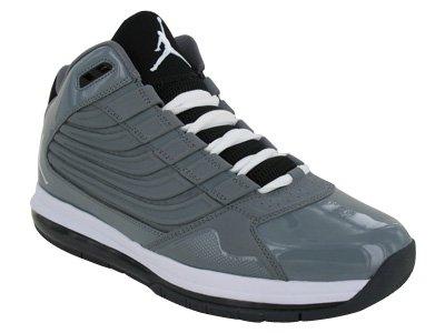 [ナイキ] メンズ Air Jordan Big Ups - Cool Grey B006AWHYPQ  9.5 D(M) US