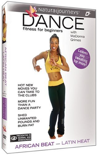 Latin Dances Dvd - Dance Fitness for Beginners with MaDonna Grimes: African Beat - Latin Heat