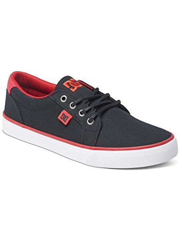 DC COUNCIL TX M SHOE WID COUNCIL TX-M - Zapatillas de lona para hombre, color gris, talla negro