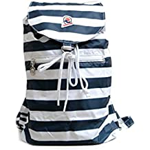Backpack packable INVICTA - IMINISAC - VINTAGE Minisac Blue Stripes