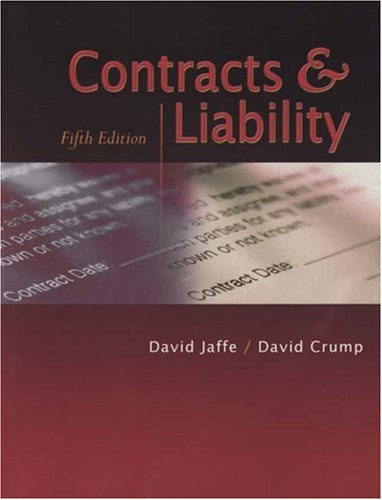 Pdf Law Contracts & Liabilities