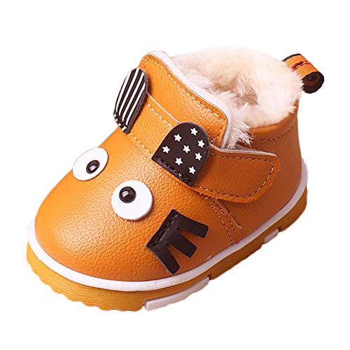 Todaies Baby Infant Toddler Girls Boys Cartoon Winter Warm Shoes Snow Boots Sneakers? -