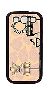 TUTU158600 Hard Plastic and Aluminum Back case for samsung galaxy s3 for girls - vintage Ms. supplies