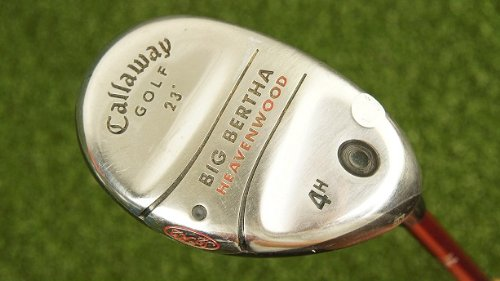 Callaway Golf 23° Big Bertha Hybrid 4 Senior Graphite Right Hand