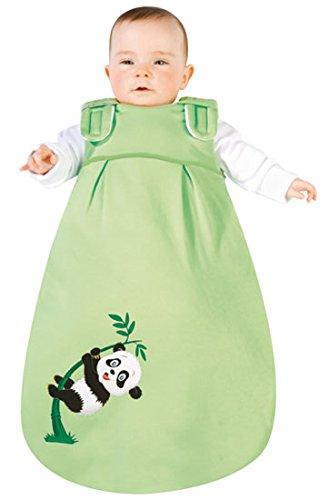 Picos Aerosleep - Saco de dormir para bebé bambú con Panda de impresión verde verde Talla:62/68: Amazon.es: Bebé