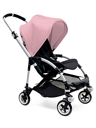 Bugaboo Bee3 Stroller - Soft Pink/Black/Aluminum(Stroller not included)