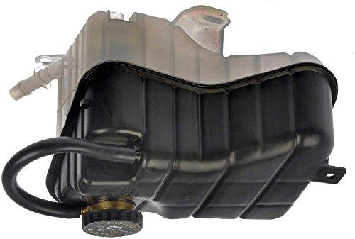 APDTY 714233 Coolant Reservoir Fluid Overflow Plastic Bottle Housing w/Cap Fits Select Cadillac DeVille Oldsmobile Aurora Pontiac Bonneville (Replaces 25774005, 26032950)