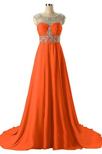 TOSKANA BRAUT -  Vestito  - linea ad a - Donna arancione 34