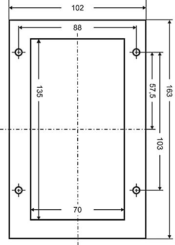 41TTK7 EGCS as - Schwabe CEE-Caravan-Einspeisungsstecker 230 V / 16 A / 3-polig – Outdoor Anbau-Stecker mit Klappdeckel – 3-poliger…