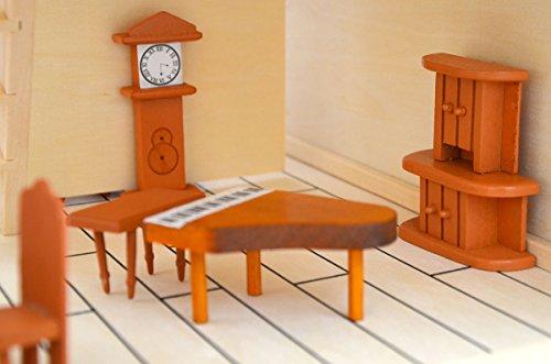 Eyepower arredamento Sala da Pranzo per casa delle bambole | set di ...