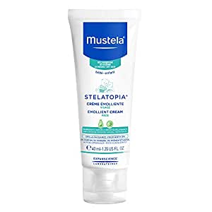 Mustela Stelatopia Emollient Face Cream Fragrance Free For Eczema Prone Skin
