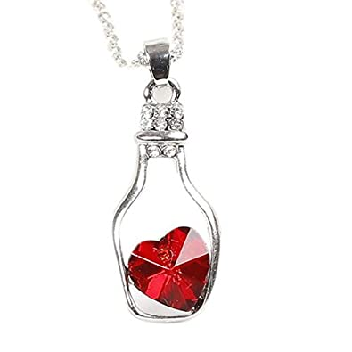 pendant diffuser a bottle essential oil necklaces glass wholesale necklace design jewelry