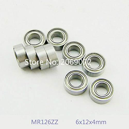 Ochoos 10pcs Miniature Model Bearing MR115ZZ 5x11x4mm