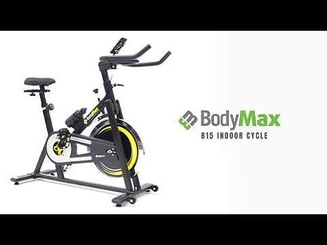Bodymax B15 Bicicleta estática, Color Negro: Amazon.es: Deportes y ...