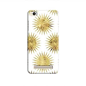 Cover It Up - Gold White Star Redmi 4A Hard Case
